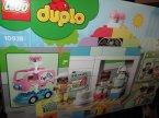 Lego Duplo, 10928, 10922, 10930, 10931, klocki Lego Duplo, 10928 Piekarnia, 10922 Podwodny zamek Arielki, 10930 Buldożer, 10931 Ciężarówka i koparka gąsien...