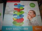Baby Ball Tower i inne zabawki z serii, klocki i piłeczki grawitacyjne dla maluszka, Family Games, zabawka edukacyjna, zabawki edukacyjne
