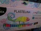 Plastelina, 24 kolory, do zabawy w domu i nauki plastyki w szkole