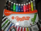 Y-puls parrot, flamastry, mazaki, flamaster