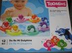 Toomies, Zabawki do wody dla maluszka, Delfiny,m Do Re Mi Dolphins