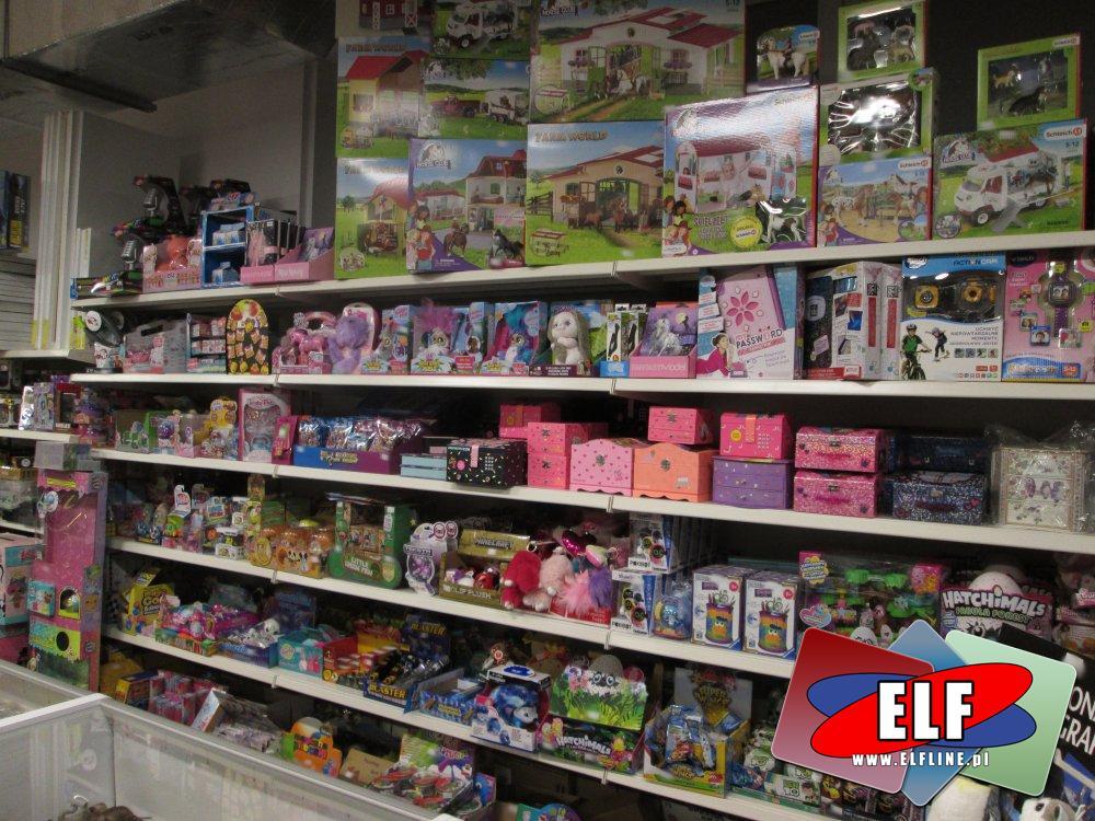 Schleich, Szkatułki, Top Model, Hathimals i inne zabawki