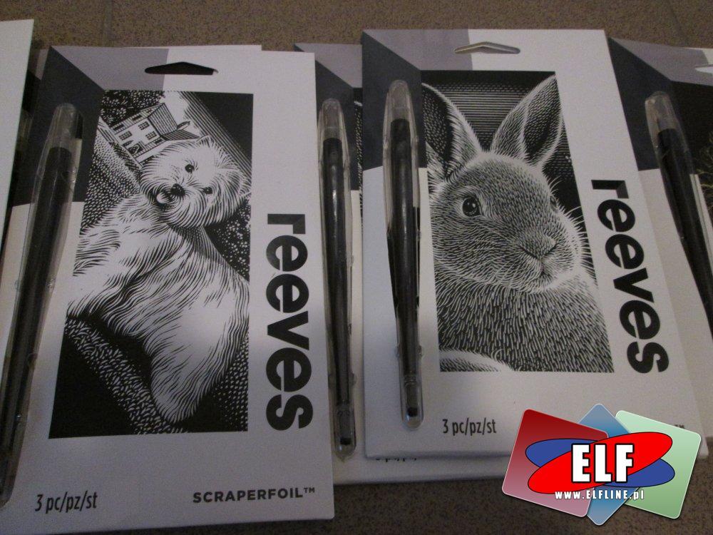 Reeves Scraperfoil, Folia do tworzenia przez skrobanie, artystyczne, artystyczna