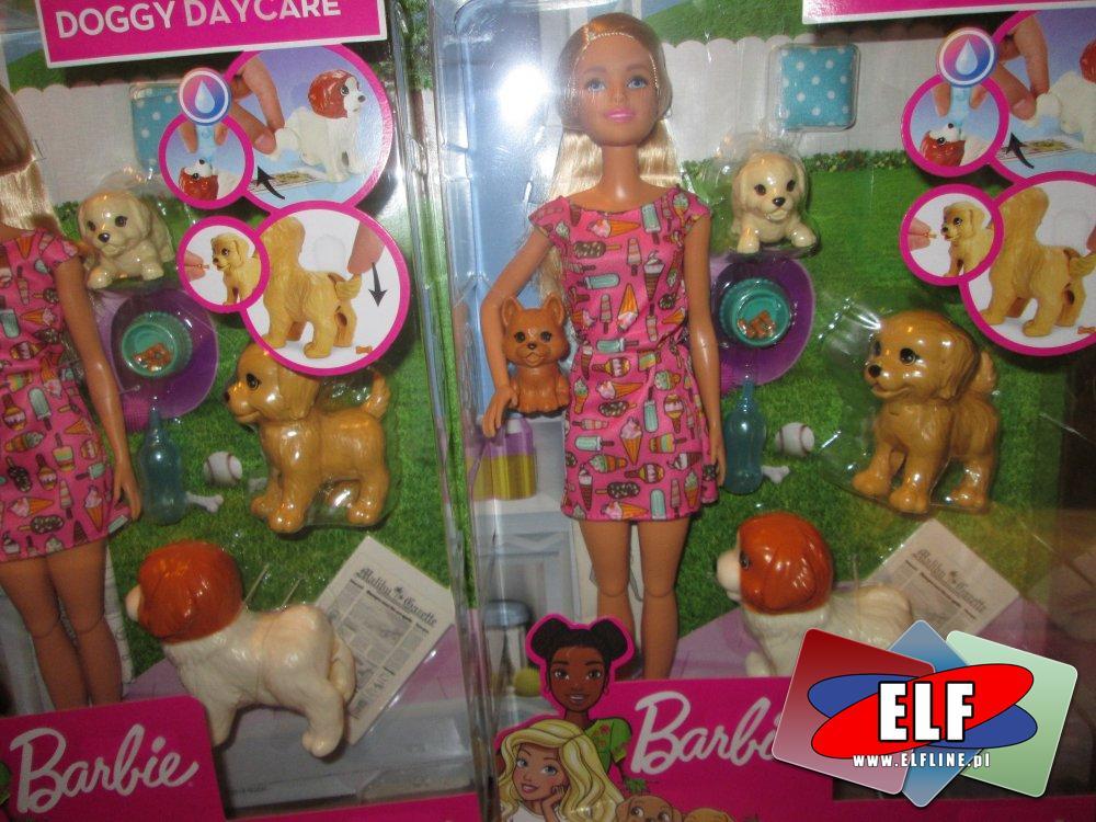 Lalka Barbie, Doggy dancer, pieski, szczeniaczki