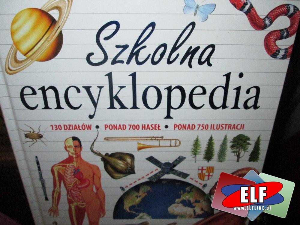 Szkolna encyklopedia, książka, książki
