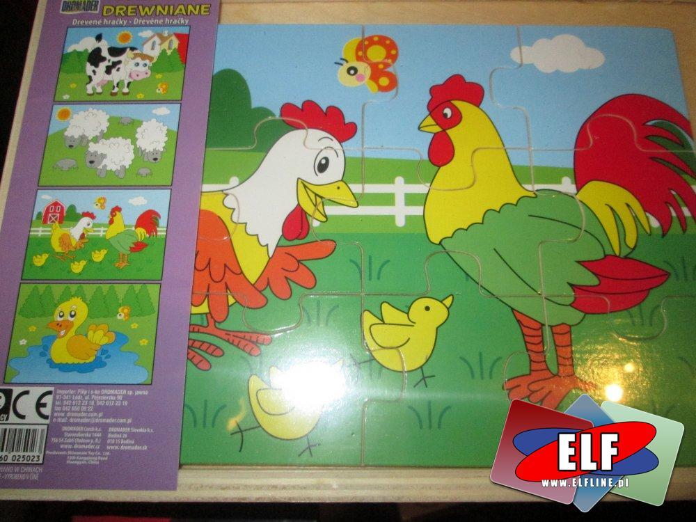 Układanki drewniane, Puzzle drewniane, edukacyjne dla dzieci, układanka drewniana