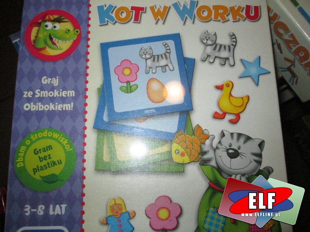 Kot w worku, Graj ze smokiem, gra edukacyjna, gry edukacyjne
