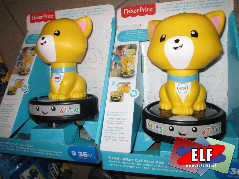 Fisher-Price Crawl-after Cat, Zegarek szczeniaczka, zabawka edukacyjna, zabawki edukacyjne