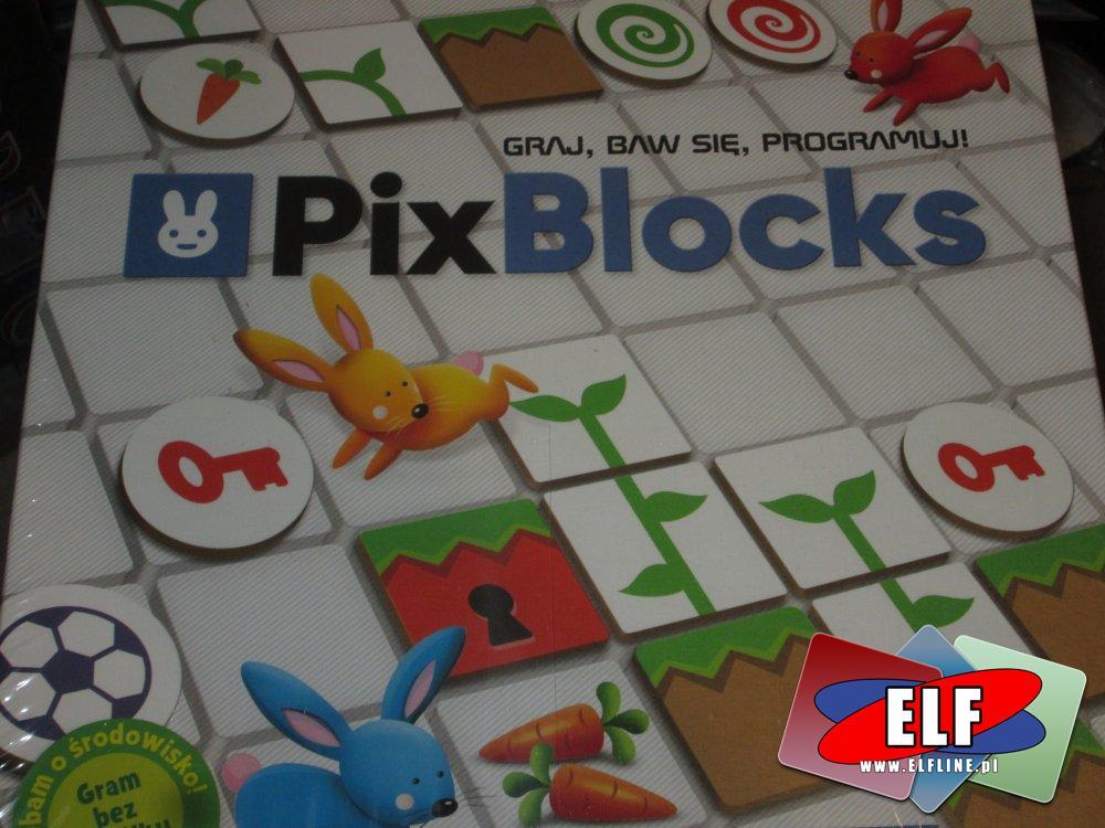 Gra PixBlocks, Graj, Bar się, Programuj!, Gry