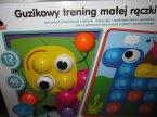 Guzikowy trening malej rączki, zabawka kreatywna, edukacyjna