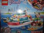 Lego Friends, 41381 Łódź Ratunkowa, klocki Lego Friends, 41381 Łódź Ratunkowa, klocki