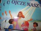 Książeczka edukacyjna, uczę się Zdrowaś Maryjo, Aniele Boży, Ojcze Nasz, religijne książeczki edukacyjne dla dzieci
