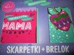Skarpetki + Brelok, Breloczek i skarpetki