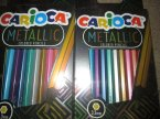 Carioca Metallic, Kredki, Metaliczne