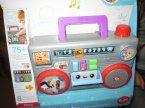 Fisher-Price Gramofon szczeniaczka, dla maluszka, interaktywny edukacyjny