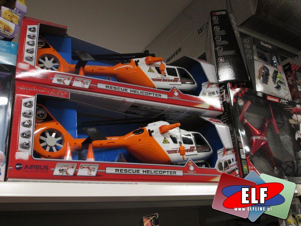 Rescue Helicopter, Helikoptery, pojazdy, Zabawki