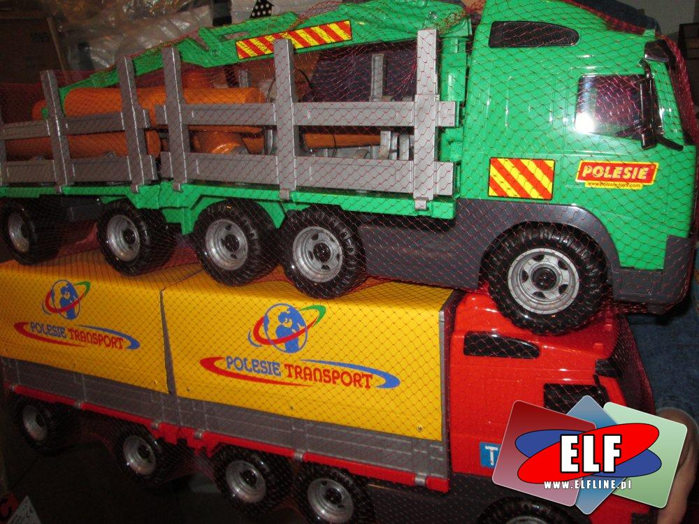 Tir, Samochód zabawka, Tiry, samochody zabawki, polesie