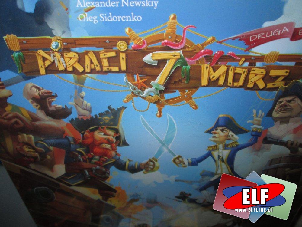 Gra Piraci 7 Mórz, Gry