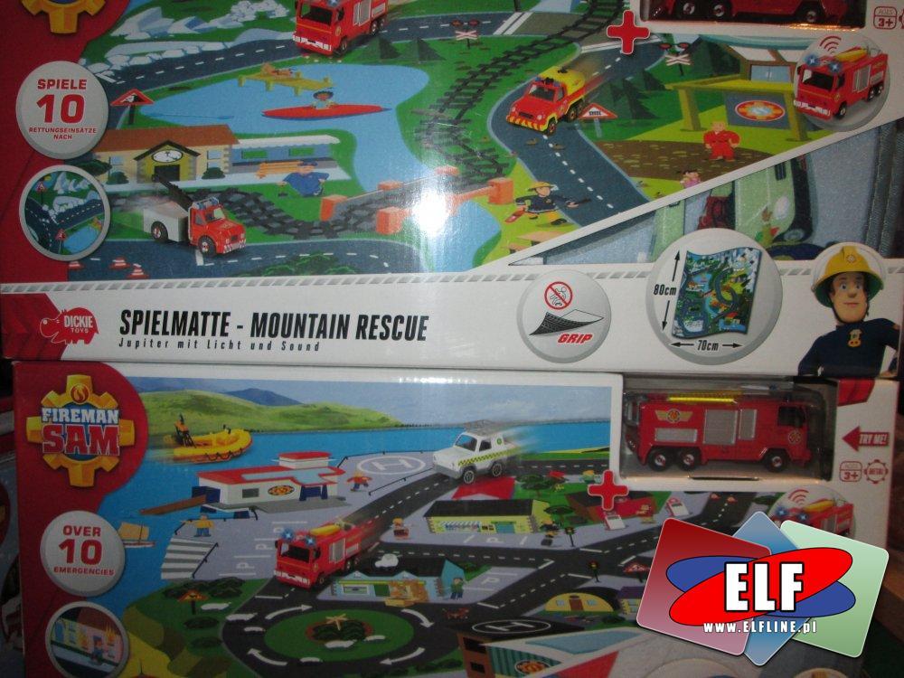 Strażak Sam, Mata i samochodzik, Straż pożarna