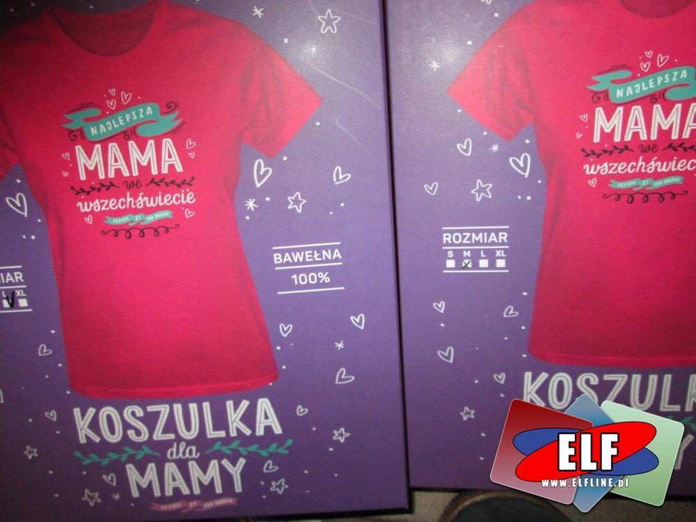 Koszulka, Najlepsza Mama we wszechświecie, upominkowa, upominkowe, koszulka dla mamy