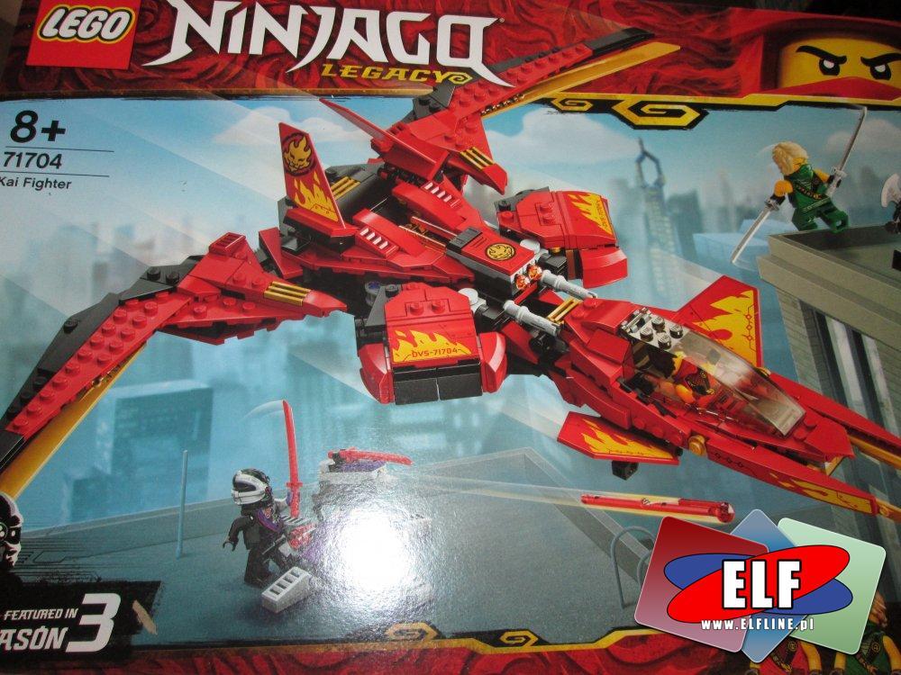 Lego Ninjago Legacy, 71704 Pojazd bojowy Kaia, klocki