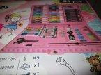 Zestaw artystyczny dla ucznia, Pastele, Flamastry, Kredki, Farbki i inne elementy zestawu, Zestawy artystyczne
