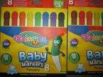Baby Markers, Flamastry spieralne, dla dzieci, flamaster, markery, marker