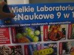 Wielkie laboratorium naukowe 9 w 1, zabawka edukacyjna i kreatywna, zabawki kreatywne i edukacyjne