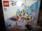 Lego Disney Frozen, 43175 Książka z przygodami Anny i Elsy, klocki, kraina lodu