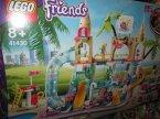 Lego Friends, 41430, 41409, 41424, 41429, 41427, 41422, 41398, 41423, 41421, 41426, klocki Lego Friends, 41430 Park Wodny, 41409 Kostka Emmy do zabawy w sklep, 41424 Baza ratownicza, 41429 Samolot Z Heartla...