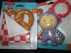 Fisher-Price, Gryzaczek, Gryzaczki, Natural Rubber Teether