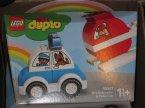 Lego Duplo, 10953 Unicorn, 10957 Helikopter strażacki i radiowóz, klocki
