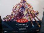 Derwent Coloursoft,  Miękkie kolorowe ołówki Derwent Coloursoft,  Miękkie kolorowe ołówki
