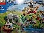 Lego City, 60302 Na ratunek dzikim zwierzętom, klocki Lego City, 60302 Na ratunek dzikim zwierzętom, klocki