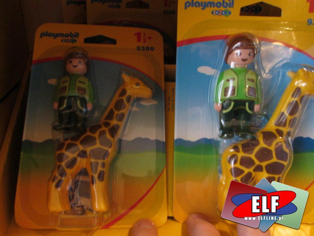 Playmobil 9380, Opiekunka zwierząt z Żyrafą