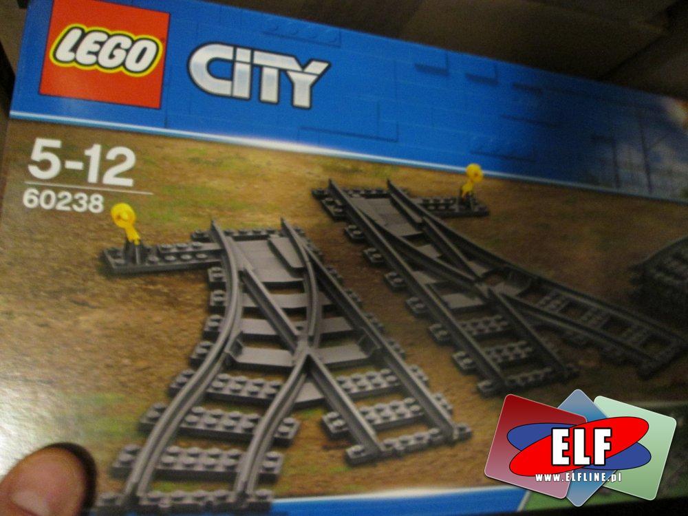 Lego City, 60238 Zwrotnice kolejowe, klocki