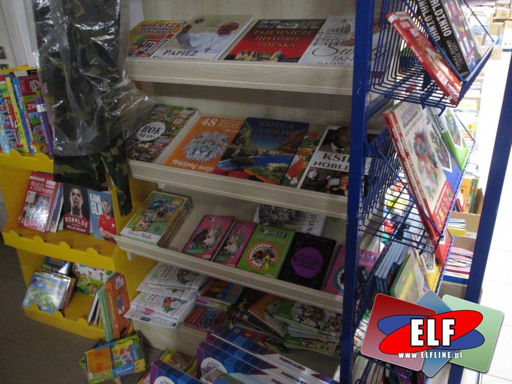 Książki o piłkarzach, Książka Minecraft i inne książki