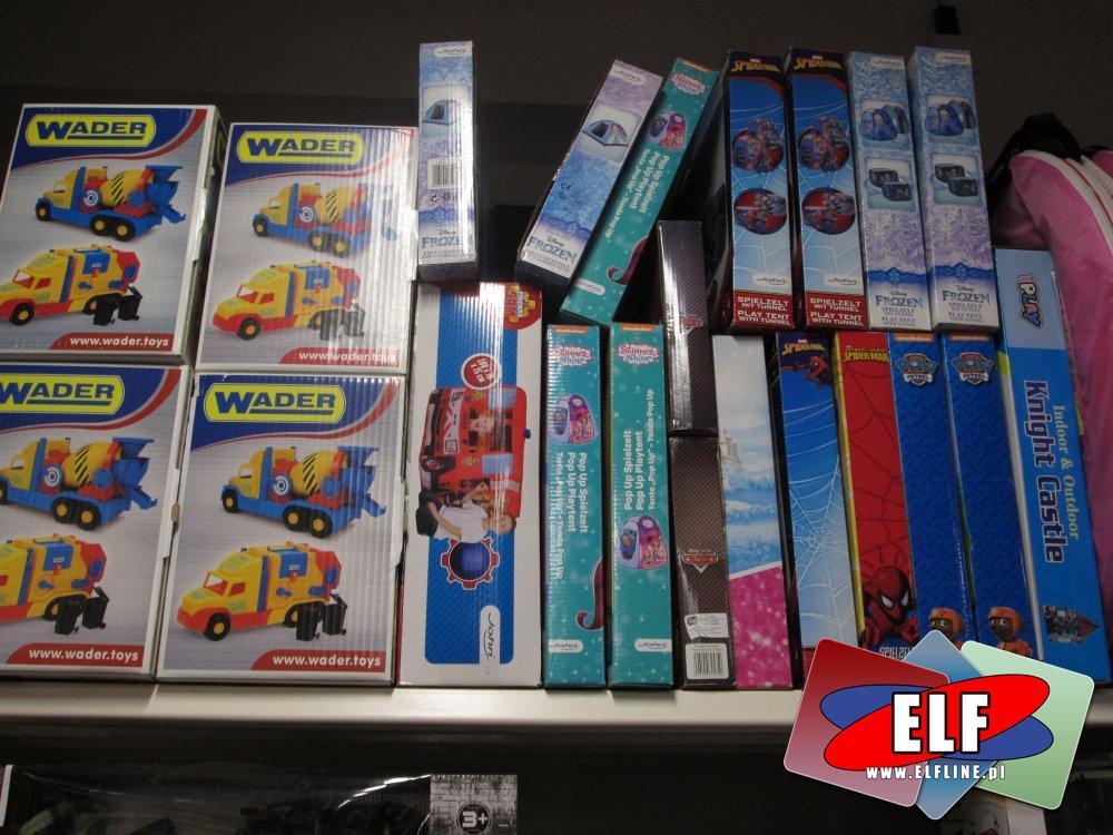 Zabawki Wader i inne