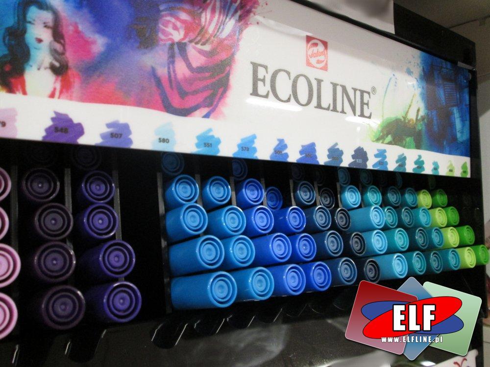 Ecoline, Mazak pędzelkowy, Mazaki pędzelkowe