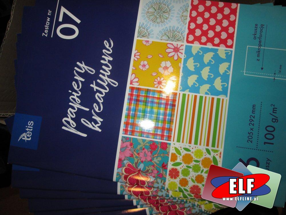 Papiery kreatywne, Tetis, papier kreatywny