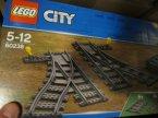 Lego City, 60238 Zwrotnice kolejowe, klocki Lego City, 60238 Zwrotnice kolejowe, klocki