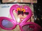 Okulary flamingi, imprezowe okulary