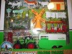 Farm Pack, zestaw farmera, farma, rolnicze, rola, traktor, traktory, świnkaświnki, wiatrak, wiatraki, zabawka, zabawki