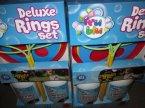 Deluxe Ring Set, Pierścień do puszczania baniek mydlanych, Bańki mydlane, bańka