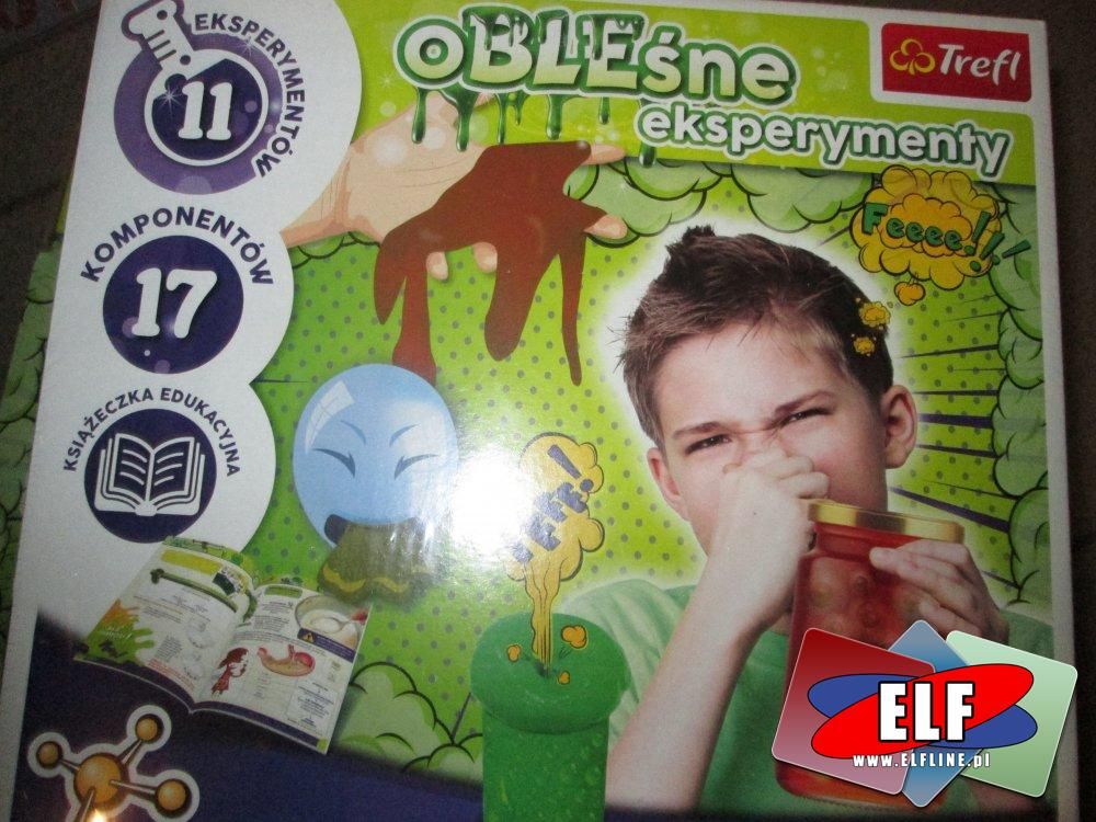 Obleśne eksperymenty trefl, edukacja przez zabawę