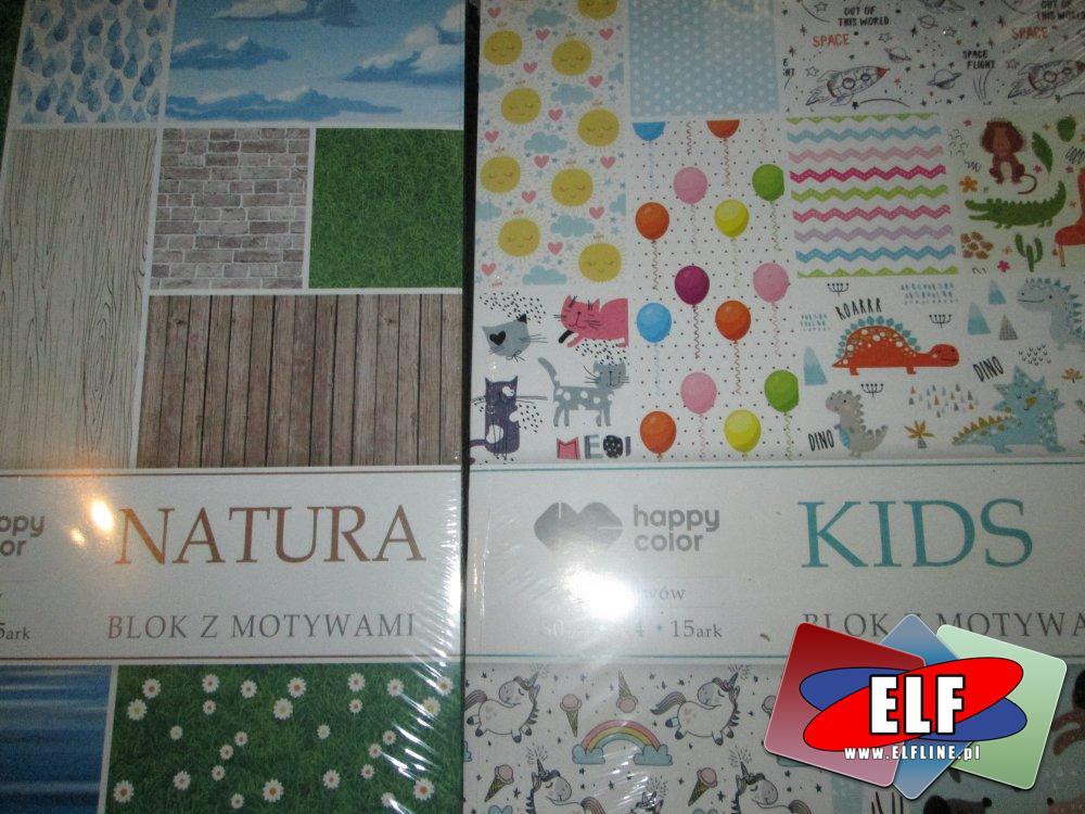 Blok z motywami, Bloki z motywami, Natura, Kids, Dzieci i inne motywy
