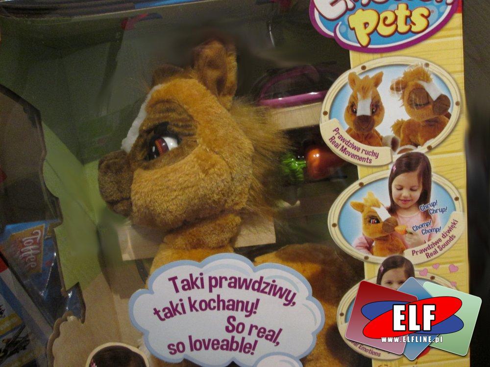 Interaktywna maskotka, maskotki interaktywne, zabawka, zabawki, pluszak, pluszaki, kucyk, kucyki, konik, koniki