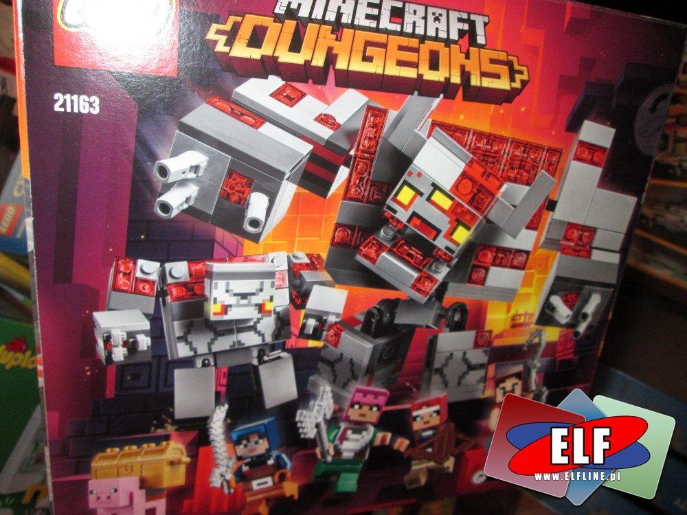 Lego Minecraft Dungeons, 21163, Bitwa o czerwony kamień, klocki
