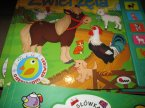 Zwierzęta, interaktywna zabawka książeczka edukacyjna, edukacyjne interaktywne książeczki zabawki