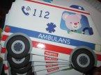 Książeczki edukacyjne i czytanki dla dzieci, Straż pożarna, Policja, Ambulans, Pomoc Drogowa i inne